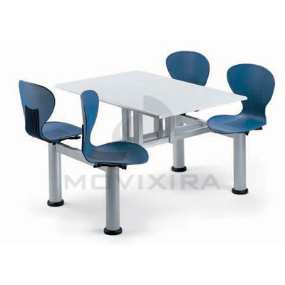 Mesas com Cadeiras Incorporadas