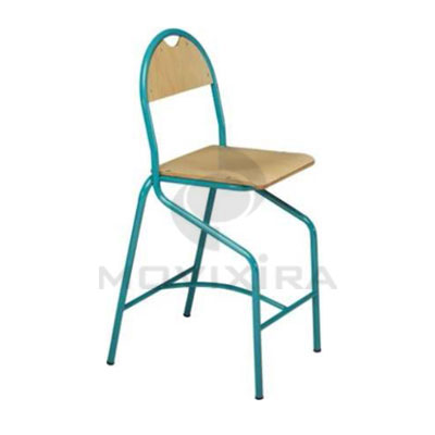 Cadeiras Altas em Madeira