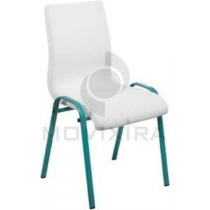 Cadeira de 4 Pés Tubo Oval