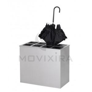 porta guarda-chuvas retangular