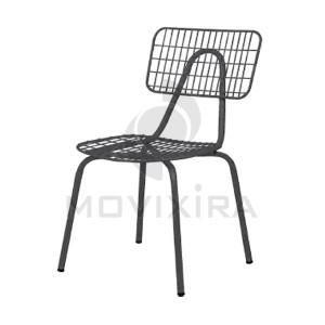 Cadeira em Aço para Interior ou Exterior