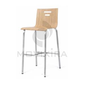 Cadeira Alta de Bar Madeira