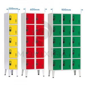 ARMÁRIOS DE 5 - 10 - 15 CACIFOS (1900mm Altura)