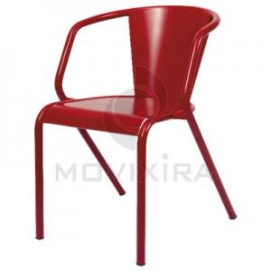 Cadeira em Chapa para Interior ou Exterior