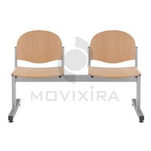 Cadeira Madeira em Viga (2 a 5 Lugares)