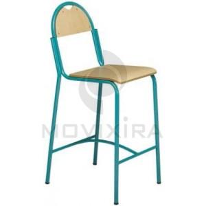 Cadeira Alta em Madeira