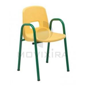 Cadeira Pré Escolar com Braços
