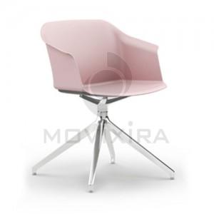 Cadeira em Plástico Rotativa Aurora