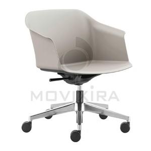 Cadeira Rodada em Plástico Aurora