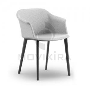 Cadeira em Plástico Revestido Aurora