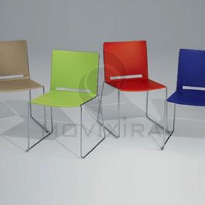 Cadeira em Plástico Filó