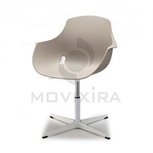 Cadeira em Plástico Base 4 raios Goa