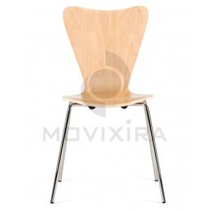 Cadeira de 4 Pés Tubo Redondo