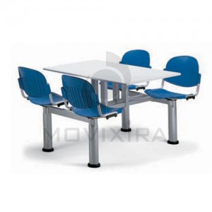 Mesa com Cadeiras Incorporadas