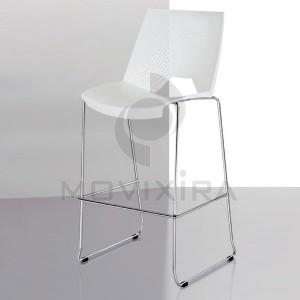 Cadeira Alta de Bar Polipropileno